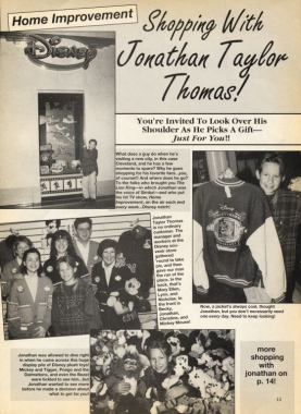 Shopping with Jonathan Taylor Thomas - page 13