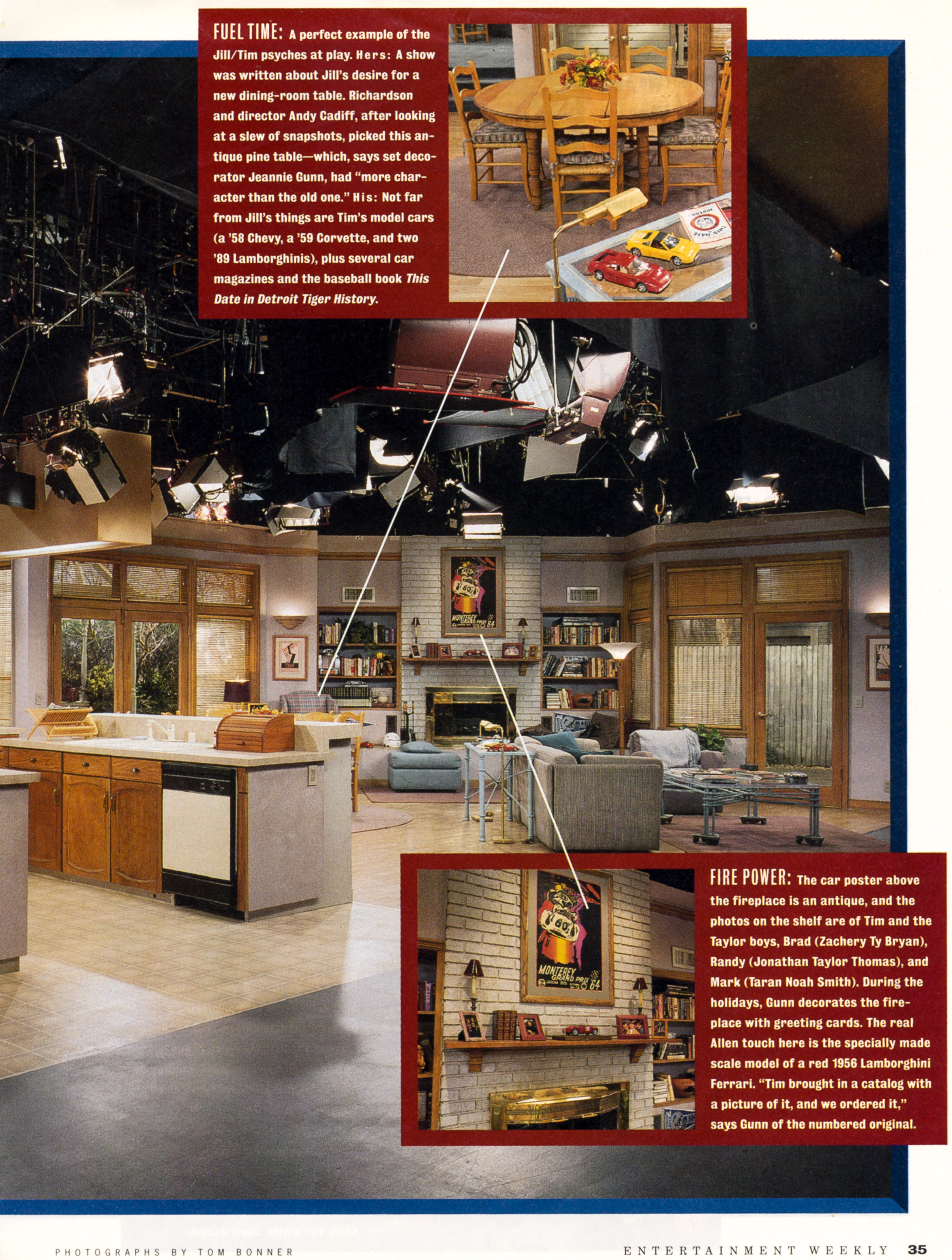 Cancel Which Membership >> Entertainment Weekly behind the scenes of Home Improvement