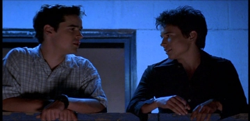 Screen capture from the 1999 movie Speedway Junky