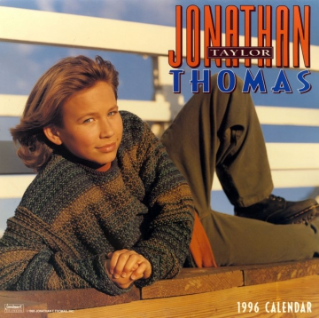 Jonathan Taylor Thomas Calendar 1996 Cover