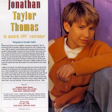 JTT 1997 Calendar - Introduction