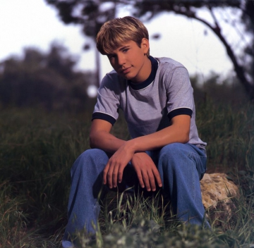 1998 Jonathan Taylor Thomas Calendar - September