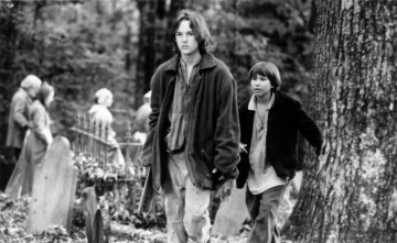 Production still from Tom and Huck