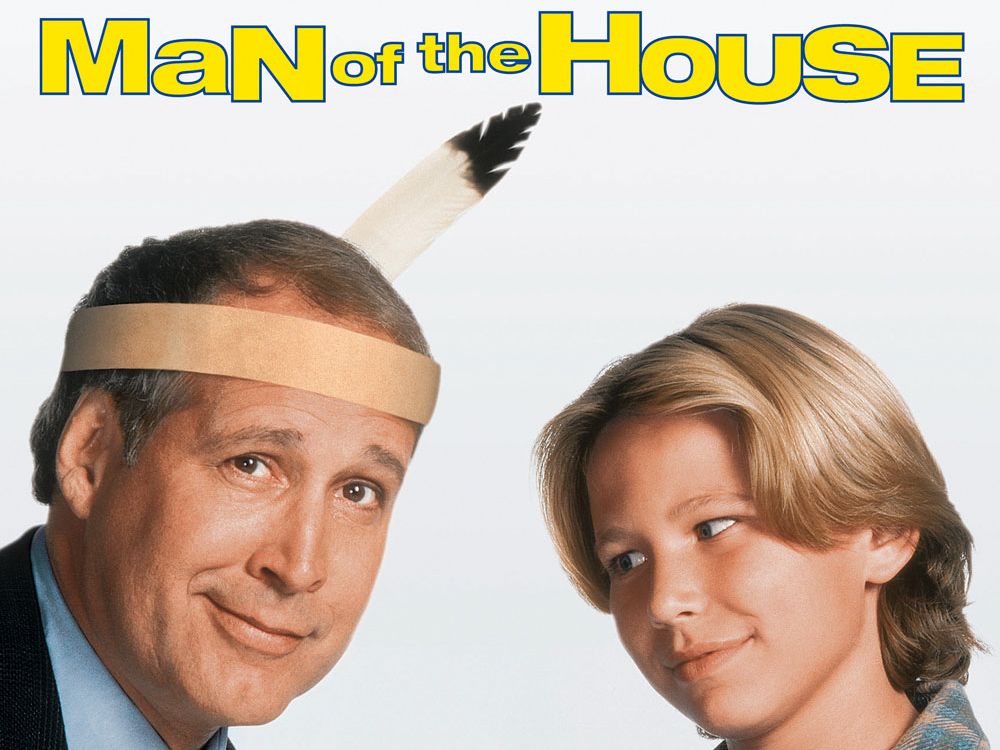 Chevy Chase and Jonathan Taylor Thomas (JTT) in Man of the House (1995)