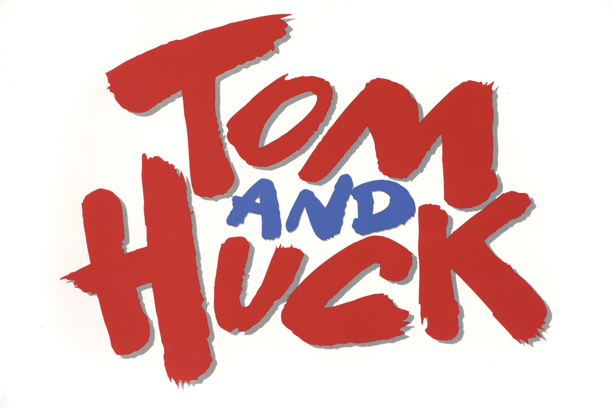 Tom and Huck logo. Copyright Buena Vista Digital.