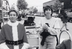 Jonathan Taylor Thomas (left) is directed by Arlene Sanford. Photo credit: Alan Markfield, (C) The Walt Disney Company