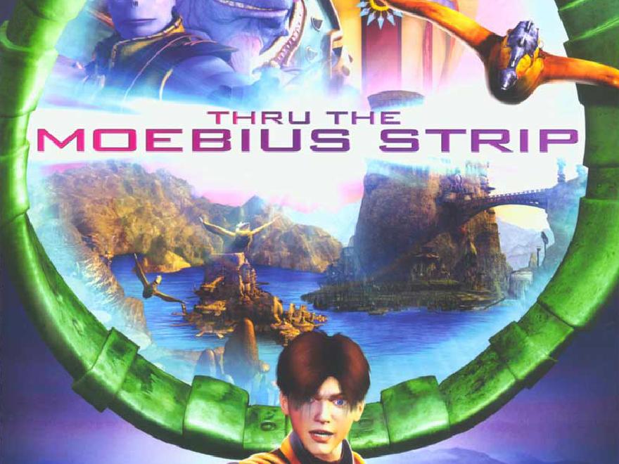 Thru The Moebius Strip cover art.