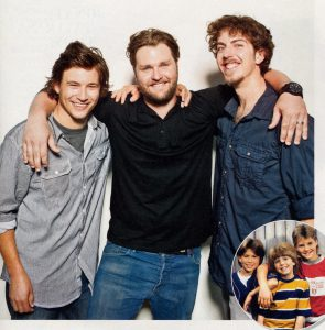Jonathan Taylor Thomas, Zachery Ty Bryan and Taran Noah Smith at the EW Home Improvement reunion.