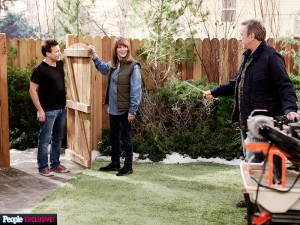 JTT & Patricia Richardson with Tim Allen on Last Man Standing