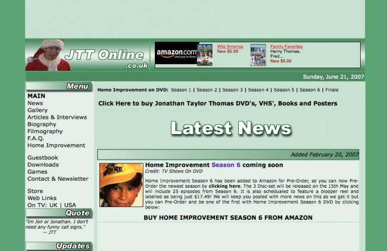 JTTOnline.co.uk part of JTTArchive.net
