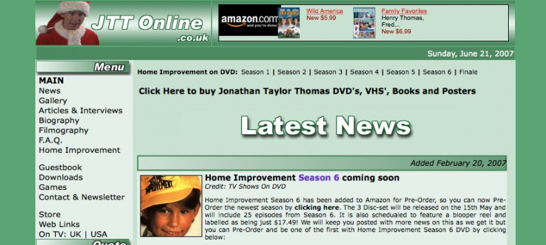 JTTOnline.co.uk part of JTTArchive.net