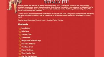 Totally JTT at The Jonathan Taylor Thomas Archive
