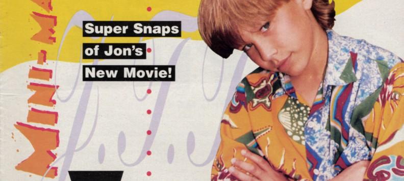 Tutti Frutti Cover Page January 1995 featuring Jonathan Taylor Thomas
