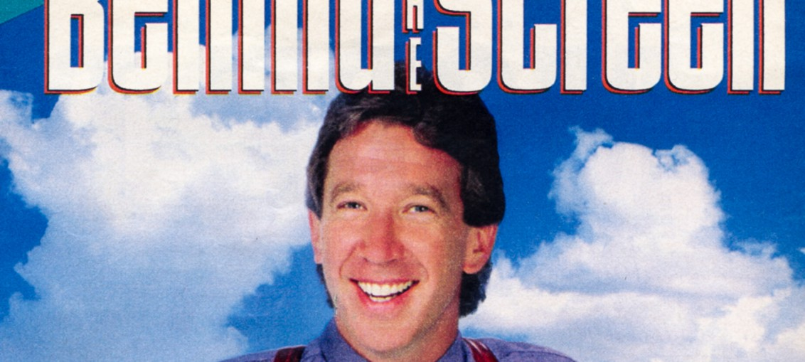 Behind the Screen cover featuring Tim Allen