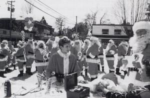 Jake (Jonathan Taylor Thomas) at the Santa 5k run. Photo credit: Alan Markfield, (C) The Walt Disney Company