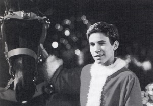"In Walt Diney Pictures' live-action comedy, ""I'll Be Home For Christmas,"" Jonathan Taylor Thomas stars as Jake Wilkinson, a self-absorbed college student, who, just days before Christmas, finds himself stranded in the middle of the California desert and has to make his way to New York by 6:00 p.m. Christmas Eve - or risk forfeiting the vintage Porsche his father promissed if his son comes home for the holidays. Photo credit: Alan Markfield, (C) The Walt Disney Company"