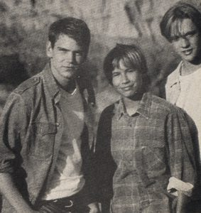 Devon Sawa, Scott Bairstow and Jonathan Taylor Thomas in Wild America