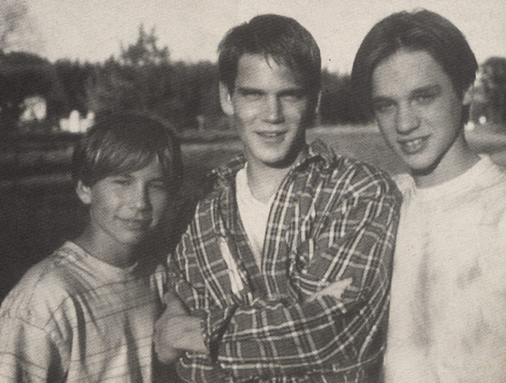 Jonathan Taylor Thomas, Scott Bairstow and Devon Sawa in Wild America